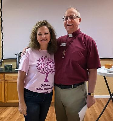 Pastor John Woodrow and wife Melanie