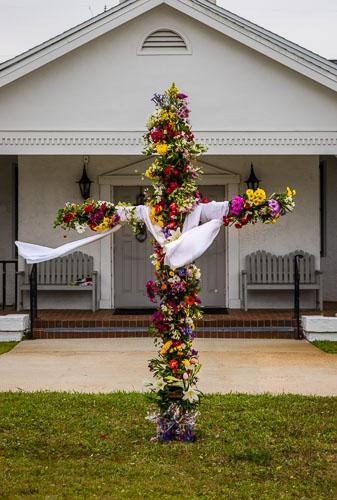 Easter Flower Cross 2020