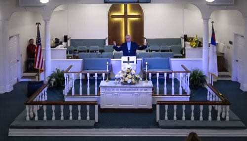 Pastor Preaching 2020